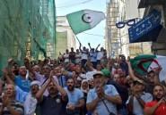 Des Algériens dans la rue contre une loi sur les hydrocarbures