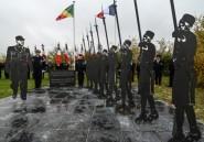 Pas-de-Calais: une stèle en hommage aux soldats africains de la Seconde Guerre mondiale