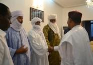 Le président du Niger rencontre des chefs touaregs du Mali