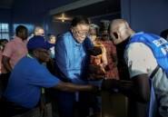 Elections en Namibie: le président sortant en tête, selon des résultats partiels