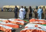 Niger: quatre présidents des pays du G5 Sahel s'inclinent devant les tombes des soldats d'Inates