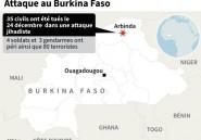 Burkina : l'Etat islamique revendique l'attaque de la base militaire d'Arbinda