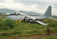 RDC: un avion militaire rate son atterrissage