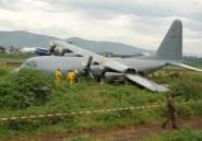 RDC: un avion militaire rate son atterrissage