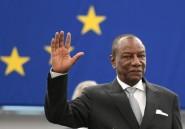 Le président guinéen