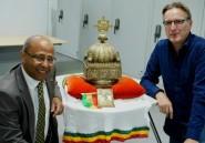 Ethiopie: restitution d'une couronne cachée pendant 21 ans aux Pays-Bas