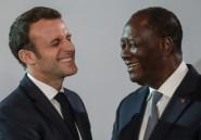 """Macron salue """"la décision historique"""" de Ouattara de ne pas se représenter"""