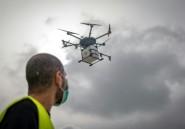 Les drones essaiment au Maroc avec la pandémie de Covid-19