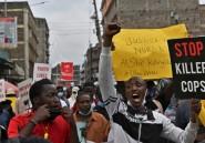 Kenya: manifestation contre les violences policières dans un bidonville de Nairobi
