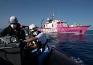 Migrants: deux navires humanitaires au secours du bateau de Banksy en Méditerranée