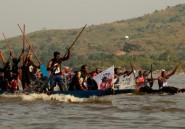 A Bangui, la course de pirogues reprend ses droits sur la guerre