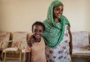 La fin d'un cauchemar pour une réfugiée éthiopienne et son enfant